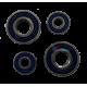 Комплект подшипников в редуктор (4 шт, Буренка)