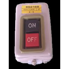 Кнопка включения доильного агрегата