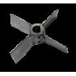 Крыльчатка НМУ 01.008 (крест, нержавейка)