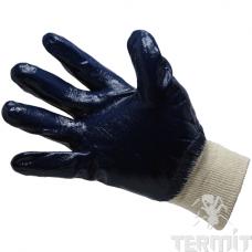 """Перчатки нитриловые синие """"ЛАЙТ"""" полный облив"""