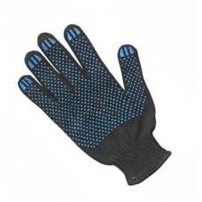 Перчатки c ПВХ (черные)